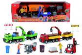 City Service Team  nákladní vůz a vysokozdvižný nebo zametací vozík