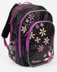 Školní batoh Karton P+P Anatomický ERGO - Květiny