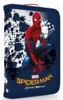 Penál 1patrový s chlopní naplněný Spiderman