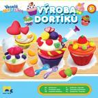 Veselá modelína Výroba dortíků