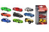 Autíčka kovová 3 ks Street Cars, 3 druhy