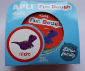 Fun Dough - samotvrdnoucí modelovací hmota Dino baby - Histo, s doplňky, 28 g