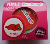 Fun Dough - samotvrdnoucí modelovací hmota Dino baby - Kristy, s doplňky, 28 g