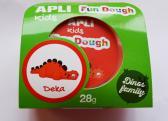 Fun Dough - samotvrdnoucí modelovací hmota Dino baby - Deka, s doplňky, 28 g