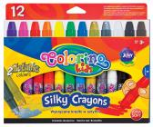 Colorino Voskovky Silky v tužce, 12 barev