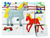 Kubus 3x4 - Zvířátka v ročních obdobích