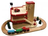 Woody Vláčkodráha s garáží