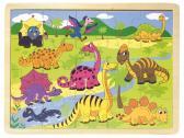 Woody puzzle dinosauři, 20 dílků