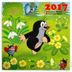 Poznámkový kalendář Krtek