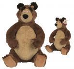 Máša a Medvěd  Medvěd plyšový 50 cm sedící