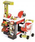 Supermarket červeno-zelený