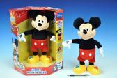 Mickey Mouse plyš 37cm česky mluvící a zpívající na baterie v krabičce