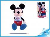 Mickey Mouse Kiss Kiss plyšový na baterie se zvukem v krabičce