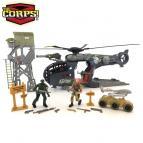 The Corps - vojenský set s vrtulníkem