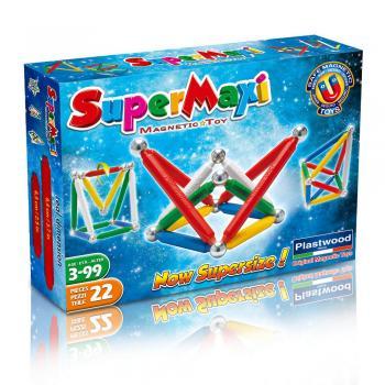 Supermaxi klasik Magnettic Toys 22 dílků