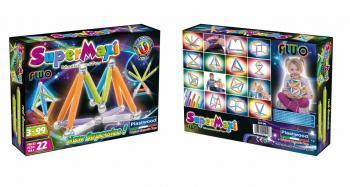 Supermaxi Fluo 22 dílků