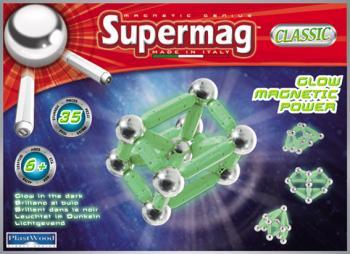Supermag klasik fosforeskující 35 dílků