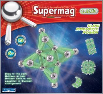 Supermag klasik fosforeskující 72 dílků