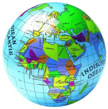 Míč Globus 23 cm