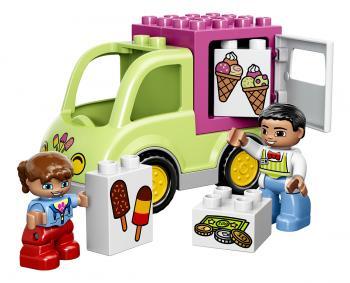 LEGO DUPLO LEGO Ville 10586 Zmrzlinářská dodávka