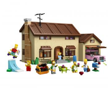 LEGO® The Simpsons™ 71006 Dům Simpsonových