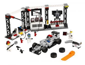 LEGO Speed Champions 75911 Zastávka vboxech pro McLaren Mercedes