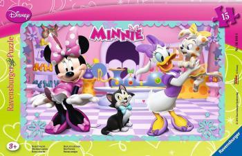 Ravensburger puzzle Minnie Mouse 15 dílků rámové