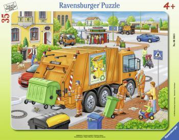 Ravensburger puzzle Odvoz odpadu 35 dílků