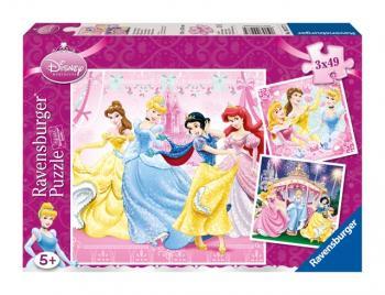 Ravensburger puzzle Princezny 3x49 dílků