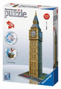 Ravensburger 3D puzzle Big Ben 216 dílků