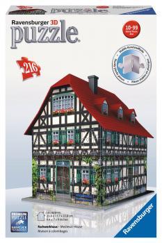 Ravensburger 3D puzzle Středověký dům 216 dílků