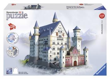 Ravensburger 3D puzzle Neuschwanstein 216 dílků