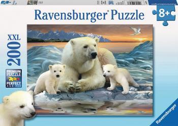 Ravensburger puzzle Lední medvědi 200 dílků