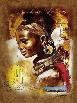 Ravensburger puzzle Africká kráska 1000 dilků