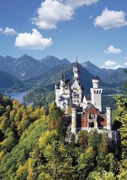 Ravensburger puzzle Neuschwanstein 1000 dílků