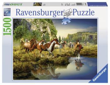 Ravensburger Divoké koně 1500 dílků