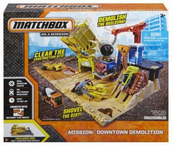 Matchbox Střední hrací set