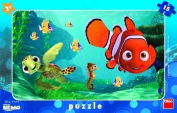 Dino puzzle Walt Disney Nemo a želva 15 dílků