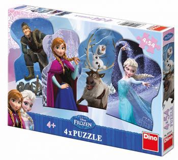 Walt Disney Frozen a přátelé 4x54 dílků