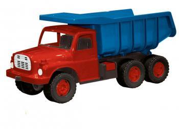 Nákladní auto Tatra modročervená