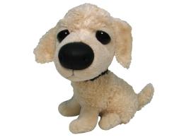 Pes H Zlatý retrívr - sedící