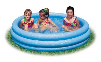 Intex Bazén tříkomorový 114x25cm