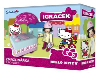 Igráček  Hello Kitty Zmrzlinářka s doplňky