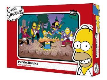 Efko Puzzle The Simpsons 280 dílků