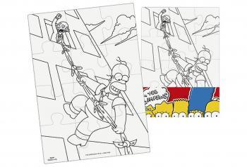 Efko Puzzle The Simpsons Vymaluj si obdélník