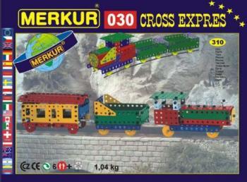 Stavebnice Merkur - Vlak CROSS expres