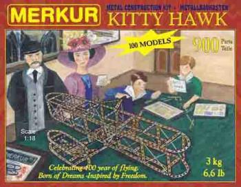 Stavebnice Merkur - Letadlo Kytty Hawk
