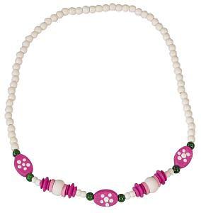 Dětský náhrdelník bílý