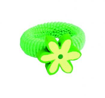 Gumička kytička zelená