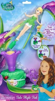 Disney Víly  vystřelovací panenka Zvonilka